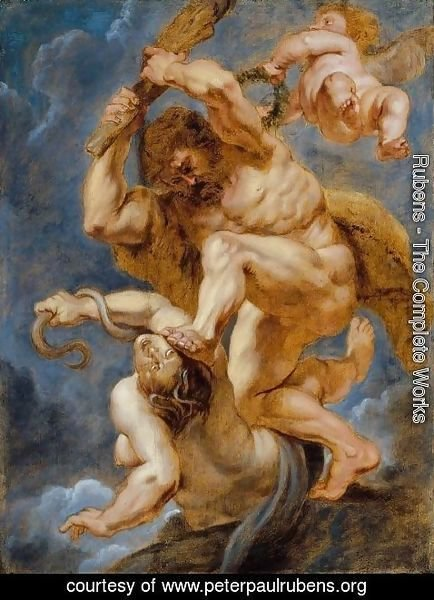 Rubens - Hercules as Heroic Virtue Overcoming Discord