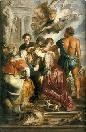 Martyrdom of St. Catherine