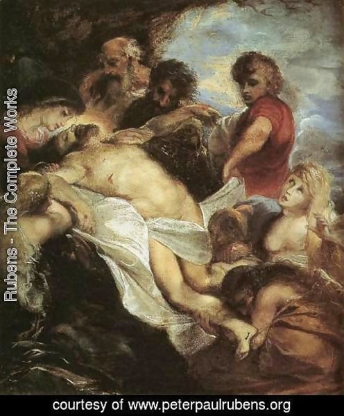 Rubens - The Lamentation 2