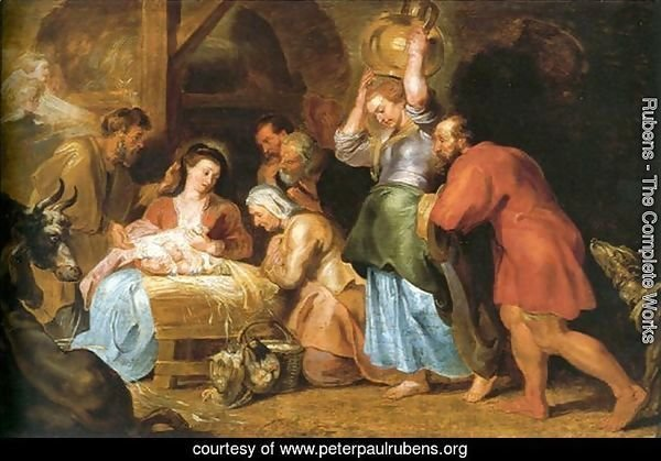 Adoration of the Shepherds 6