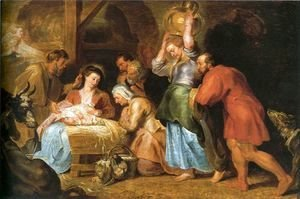 Rubens - Adoration of the Shepherds 6
