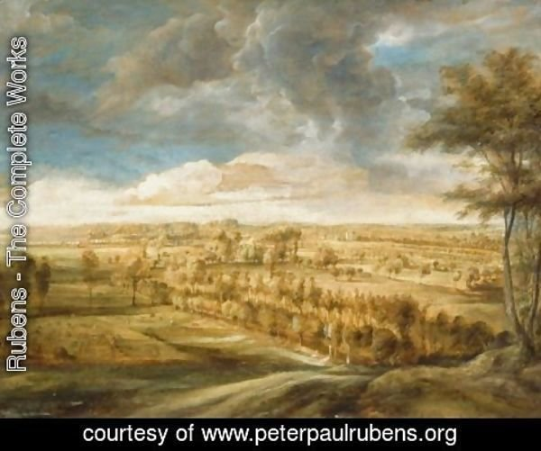 Rubens - Landscape with an Avenue of Trees
