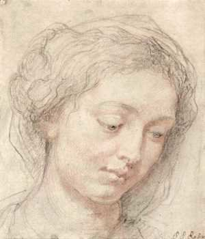 Rubens - Head of woman 3