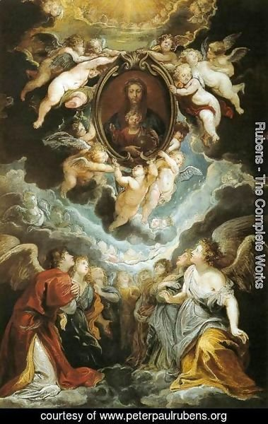 Rubens - The Madonna della Vallicella Adored by Seraphim and Cherubim