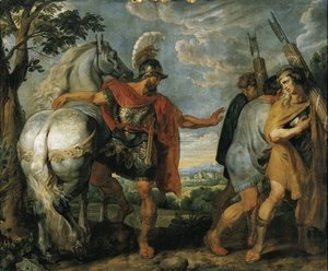 Rubens - Decius Mus sends the lictors 1616-1617