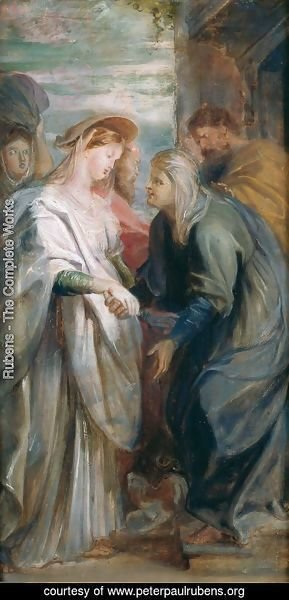 Rubens - The Visitation 1611-1612