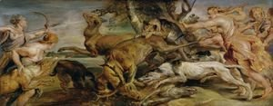 Rubens - The Hunt of Diana, 1628