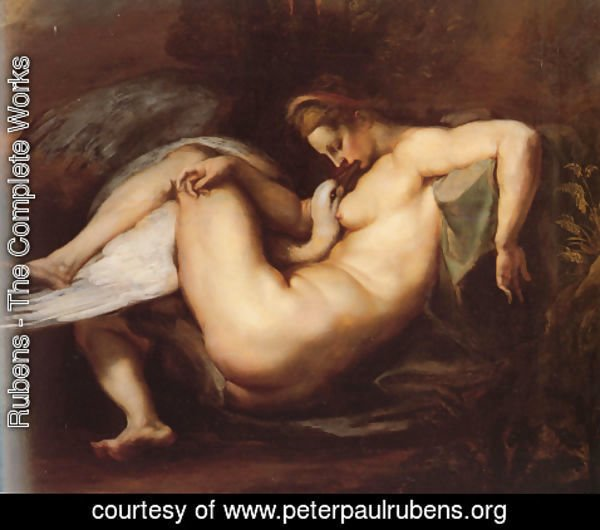 Rubens - Leda And The Swan