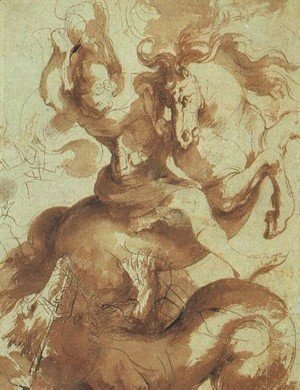 Rubens - St  George Slaying The Dragon