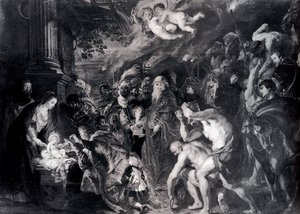 Rubens - The Adoration Of The Magi