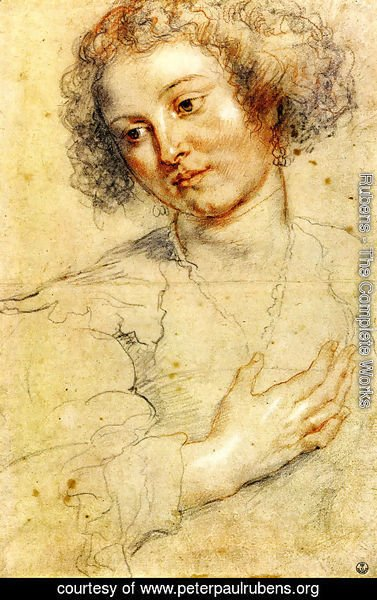 Rubens - Head And Right Hand Of A Woman