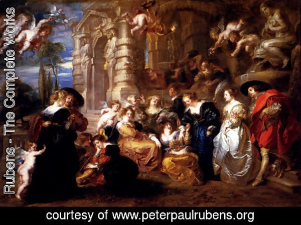 Rubens - The Garden Of Love