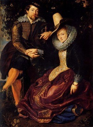 Rubens - Self Portrait With Isabella Brant