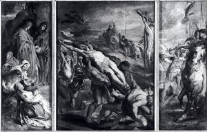 Rubens - The Elevation Of The Cross