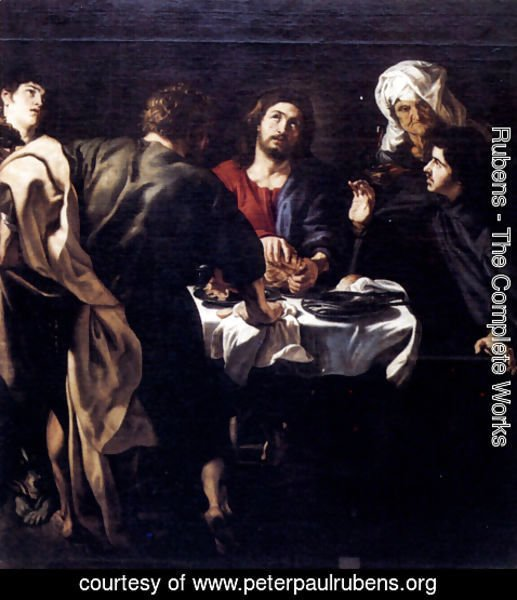 Rubens - The Supper At Emmaus