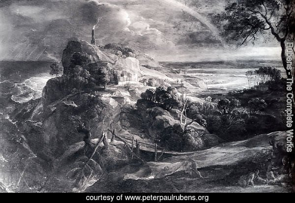 Landscape With The Shipwreck Of Aeneas