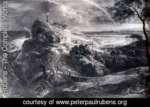 Rubens - Landscape With The Shipwreck Of Aeneas