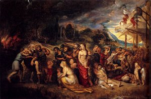 Rubens - Aeneas And His Family Departing From Troy