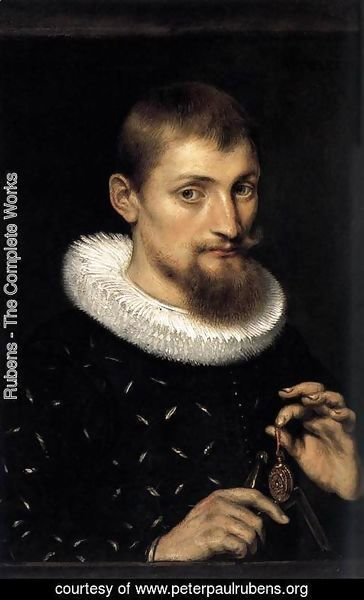 Rubens - Portrait Of A Man