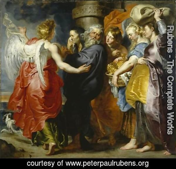 Rubens - The Departure of Lot and his Family from Sodom